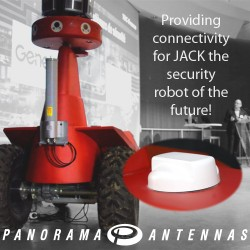 Providing connectivity for JACK the security robot of the future!