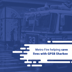 Metro Fire helping save lives with GPSB Sharkee