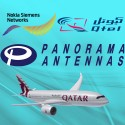 Panorama Antennas in New Doha International Airport