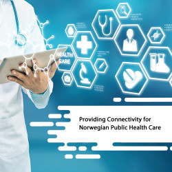 Providing Connectivity for Norwegian Public Health Care