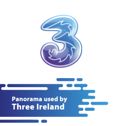 Panorama used by 3 Ireland