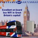 Powerful On-board WiFi on the Original London Bus Tour!