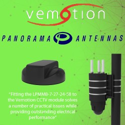 A Low Profile Antenna For Vemotion CCTV System