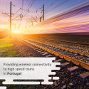 Providing  wireless connectivity to high speed trains in Portugal