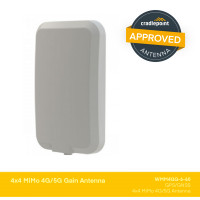 WMM4GG-6-60 | 4x4 MiMo 4G/5G Directional Antenna with GPS/GNSS