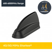 SH-IN2617 | 4G/5G MiMo 'Sharkee™' - OEM, 2x2 MiMo, GPS/GNSS, 2x2 MiMo WiFi
