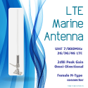 The LTE Marine Antenna: Boost your onboard phone signal