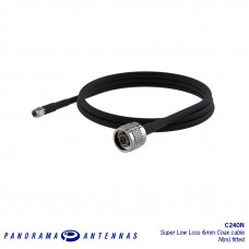 C240N | CS240 Ultra Low Loss 6mm cable-  N Plug