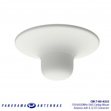 CM-7-60-4310 | 700-6000MHz DAS Ceiling Mount Antenna with 4.3/10 Connector