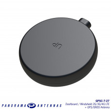GPSC-7-27 | Dashboard / Windshield 2G/3G/4G LTE + GPS/GNSS Antenna