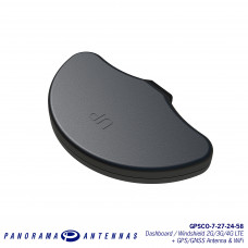 GPSCO-7-27-24-58 | Dashboard / Windshield 2G/3G/4G LTE + GPS/GNSS Antenna & WiFi