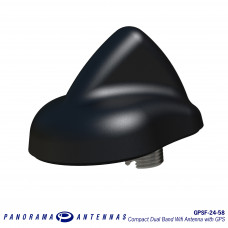 GPSF-24-58 | Compact Dual Band Wifi Antenna with GPS