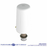 LPB-24-58-NJ | Low Profile N 2.5/5.0GHz WiFi Antenna
