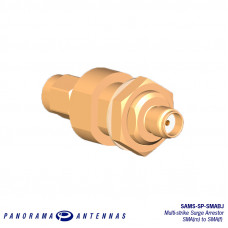 SAMS-SP-SMABJ | Multi-strike SMA (m) to SMA (f) Coaxial Surge Arrester