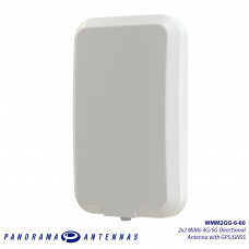 WMM2GG-6-60 | 2x2 MiMo 4G/5G Directional Antenna with GPS/GNSS